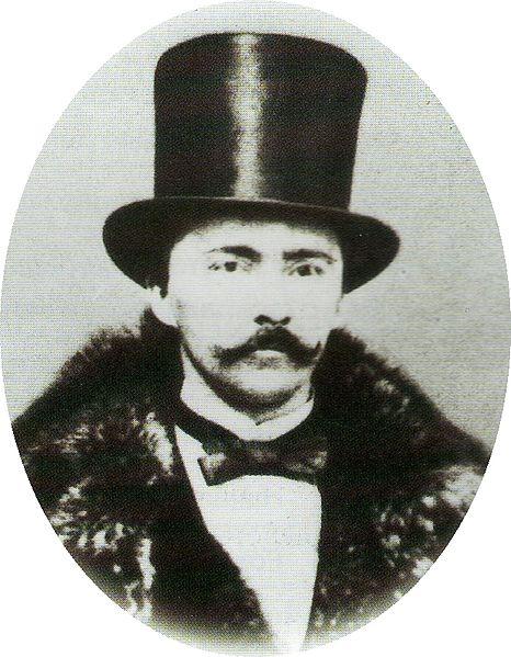 Ο Σλήμαν σε νεαρή ηλικία, εύπορος έμπορος