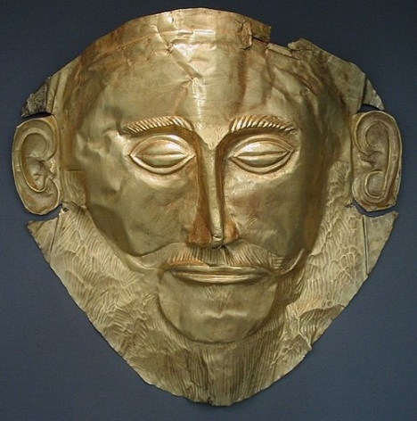 Το αποκαλούμενο χρυσό προσωπείο του Αγαμέμνονα