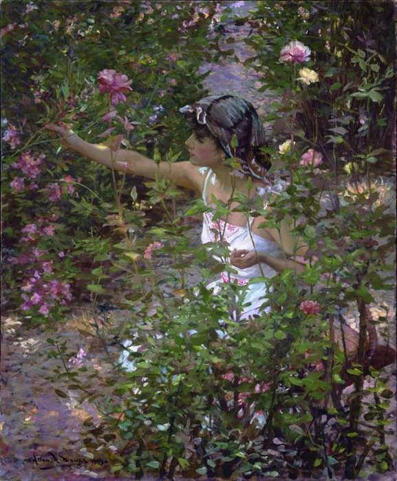 Allan R. Banks - Amidst the Roses