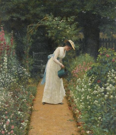 Edmund Blair Leighton - My Lady's Garden