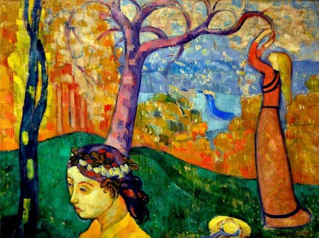 Emile Bernard - Springtime
