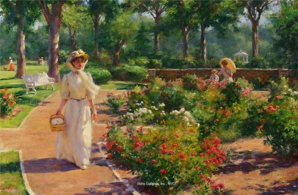 Gregory Frank Harris - Garden Pathway