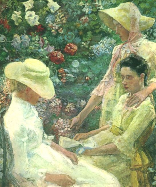 Jan Toorop - Trio fleuri