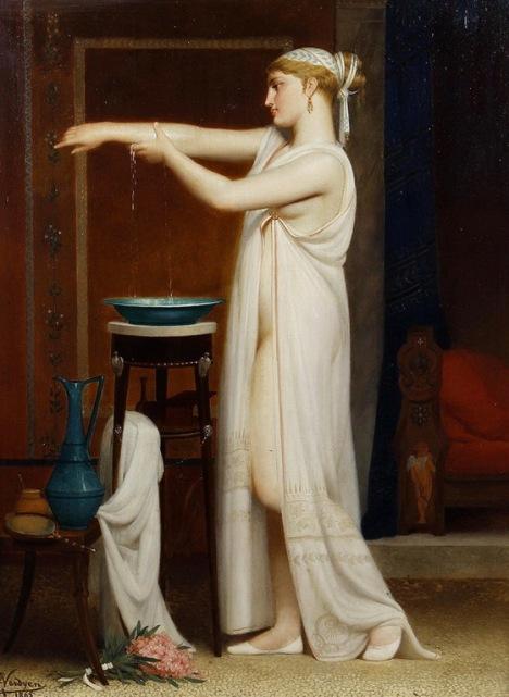 Eugène Verdyen (1836-1903) - A roman bather
