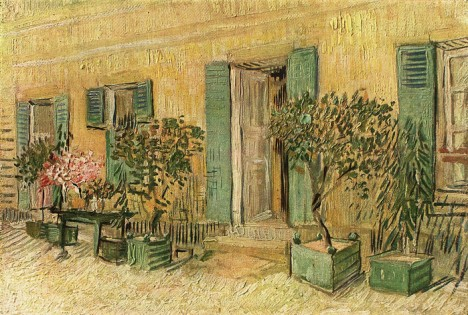 Restaurant at Asnieres.Vincent Van Gogh