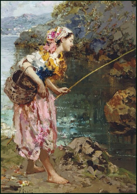 Vincenzo Irolli (Naples, 1860 – 1949) - FISHGIRL
