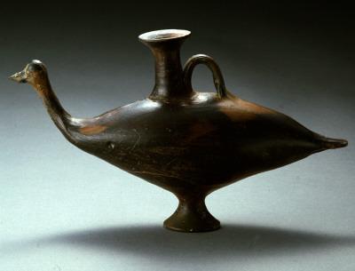 Πτηνόσχημο αγγείο πηλός Ελληνικό Πρωτογεωμετρική περίοδος 10ος αι. π.Χ.