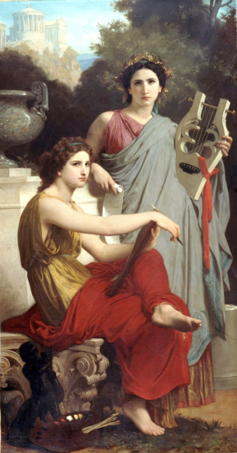 William-Adolphe Bouguereau - Art and Literature