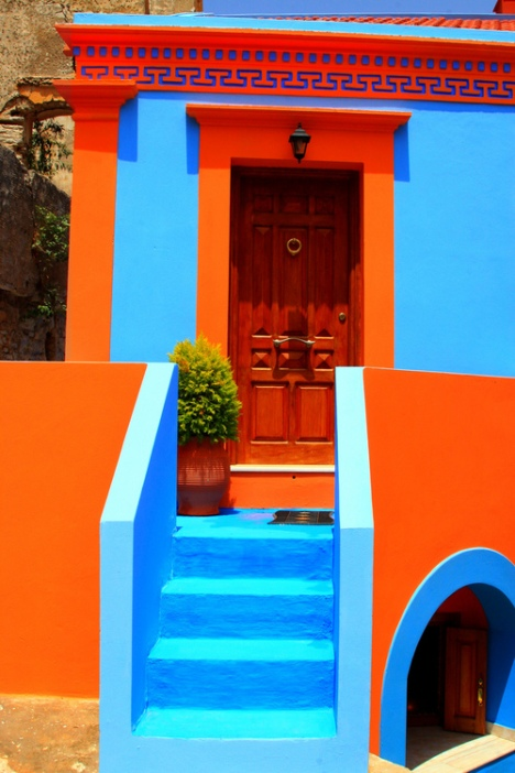 House, Symi island