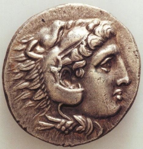 Αργυρό τετράδραχμο Αλεξάνδρου Γ΄Μακεδονίας, π.325-π.315 π.Χ.